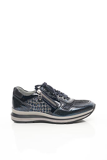 Baskets bleu NERO GIARDINI pour femme
