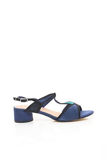 Sandales/Nu pieds bleu TAMARIS pour femme
