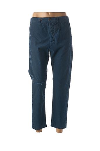 Pantalon 7/8 bleu TRUE NYC pour femme