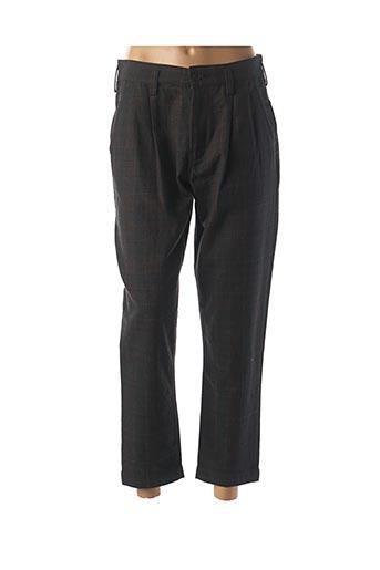 Pantalon 7/8 marron BELLEROSE pour femme