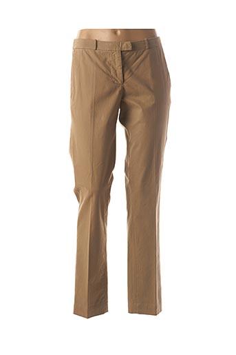 Pantalon casual marron BELLEROSE pour femme