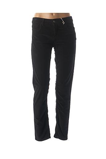 Pantalon casual noir ATHÉ pour femme