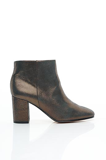 Bottines/Boots vert ANAKI pour femme