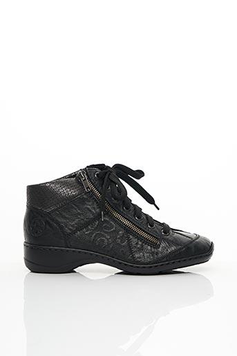 Baskets noir RIEKER pour femme