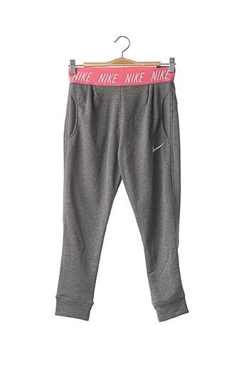 Jogging gris NIKE pour fille