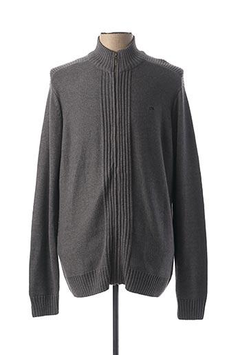 Veste casual gris TBS pour femme