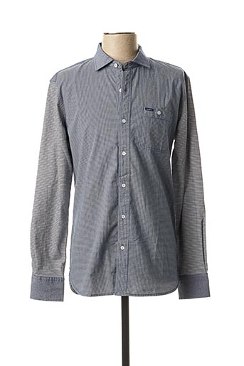 Chemise manches longues gris PEPE JEANS pour homme