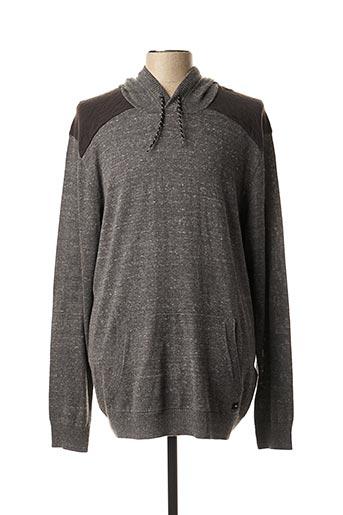 Sweat-shirt gris QUICKSILVER pour homme