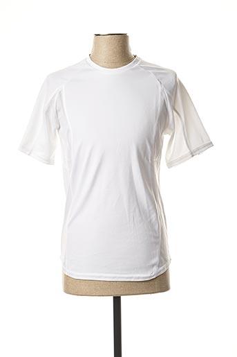T-shirt manches courtes blanc PROACT pour homme