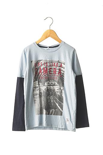 T-shirt manches longues bleu NAME IT pour garçon