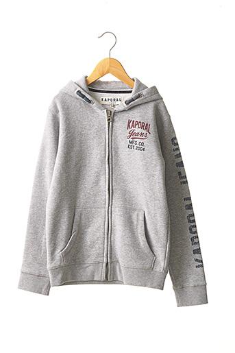 Veste casual gris KAPORAL pour garçon