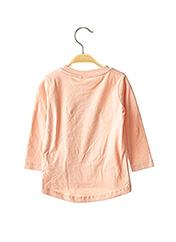 T-shirt manches longues rose NAME IT pour fille seconde vue