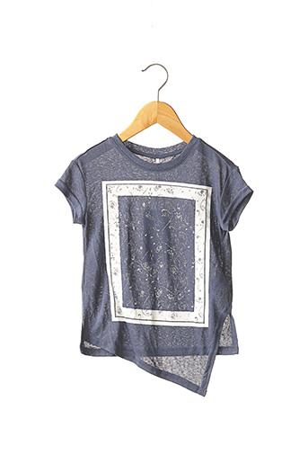 T-shirt manches courtes bleu NAME IT pour fille