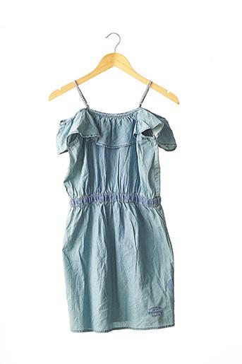 Robe mi-longue bleu KAPORAL pour fille