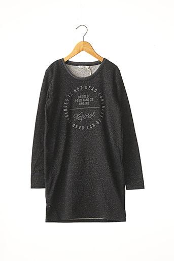 Robe mi-longue noir KAPORAL pour fille