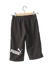 Jogging noir PUMA pour fille seconde vue