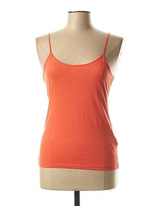 Top orange NICE THINGS pour femme
