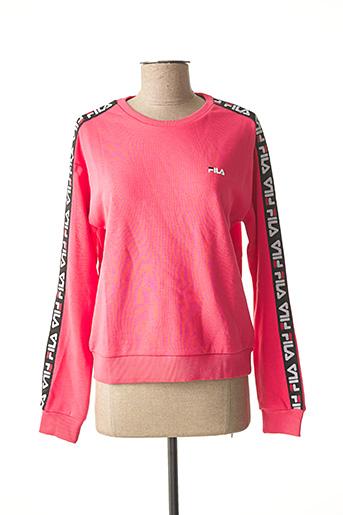 Sweat-shirt rose FILA pour femme