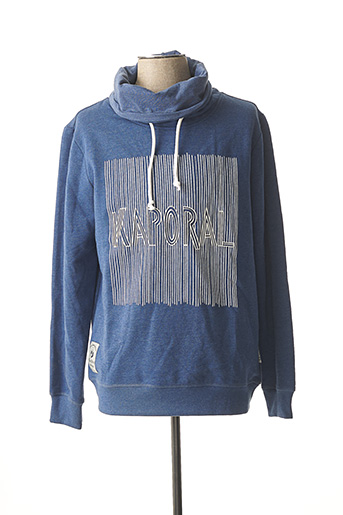 Sweat-shirt bleu KAPORAL pour homme