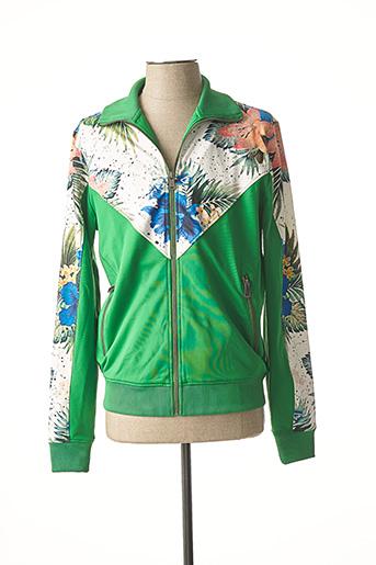 Veste casual vert GUESS pour homme