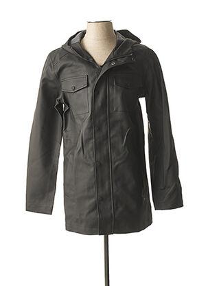 Manteau court noir GUESS pour homme