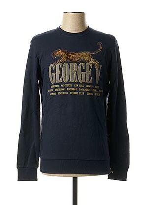 Sweat-shirt bleu AVENUE GEORGE V pour homme