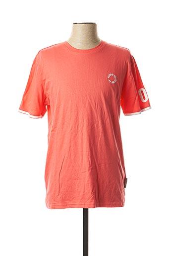 T-shirt manches courtes rouge KAPORAL pour homme