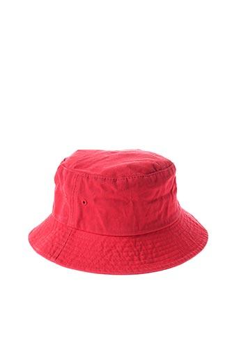 Chapeau rouge REDSKINS pour unisexe