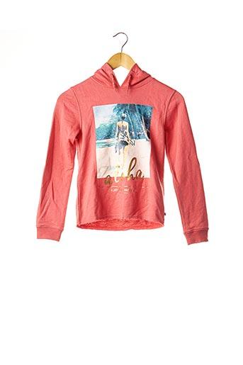 Sweat-shirt rose LE TEMPS DES CERISES pour fille