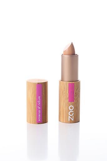 Maquillage beige ZAO pour femme