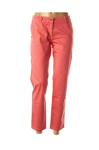 Pantalon casual rose PAKO LITTO pour femme