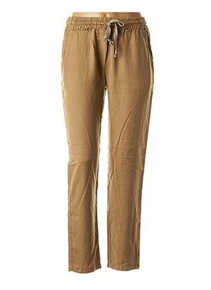 Pantalon casual marron PAKO LITTO pour femme
