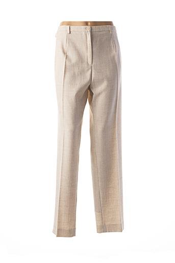 Pantalon chic beige GUY DUBOUIS pour femme