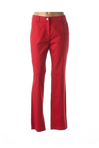 Pantalon casual rouge LEBEK pour femme