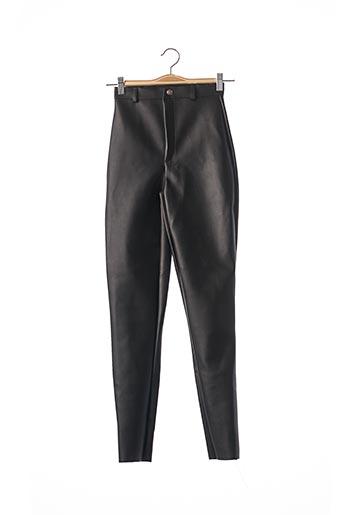 Pantalon casual noir PRETTY LITTLE THING pour femme