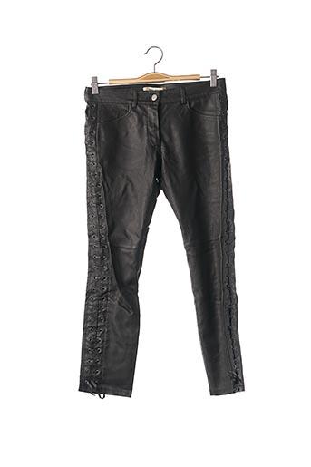 Pantalon casual noir ISABEL MARANT pour femme