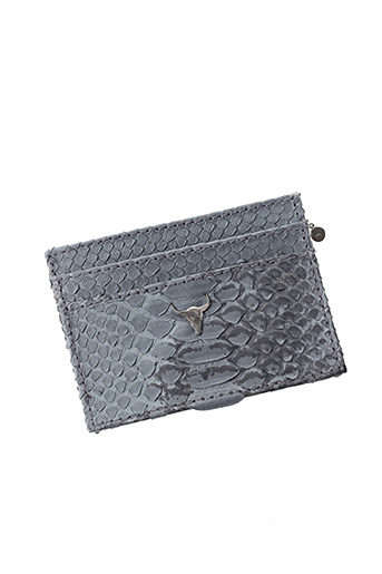 Porte-carte gris LE PETIT CARTEL pour femme