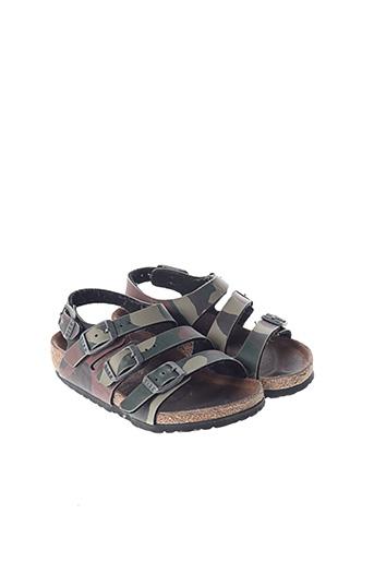 Sandales/Nu pieds marron BIRKENSTOCK pour garçon