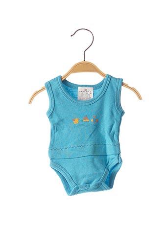 Body lingerie bleu SANS MARQUE pour enfant