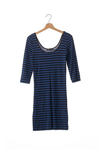 Robe mi-longue bleu AMISU pour femme