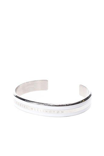 Bracelet Jonc gris DANIEL WELLINGTON pour femme