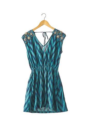 Robe courte bleu MANOUSH pour femme