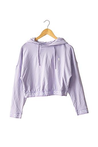 Sweat-shirt violet OCEANS APART pour femme