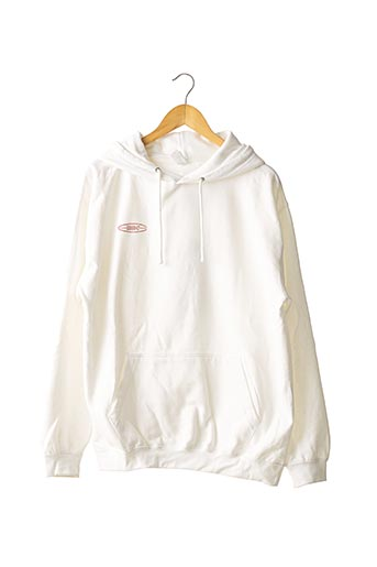 Sweat-shirt blanc JUST HOODS BY AWDIS pour homme