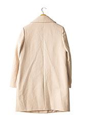Manteau long beige ETAM pour femme seconde vue