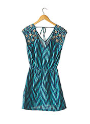 Robe courte bleu MANOUSH pour femme seconde vue