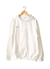 Sweat-shirt blanc JUST HOODS BY AWDIS pour homme seconde vue