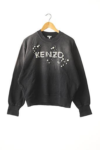 Sweat-shirt gris KENZO pour femme