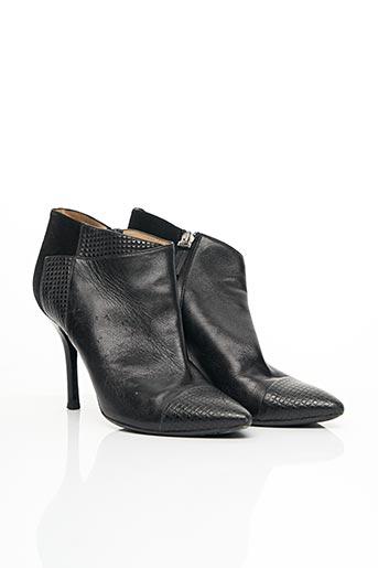 Bottines/Boots noir LONGCHAMP pour femme