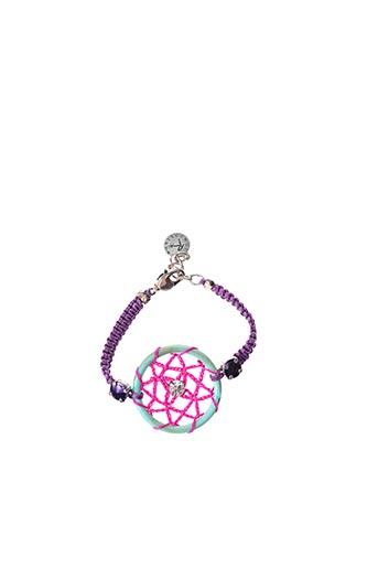 Bracelet violet REMINISCENCE pour femme